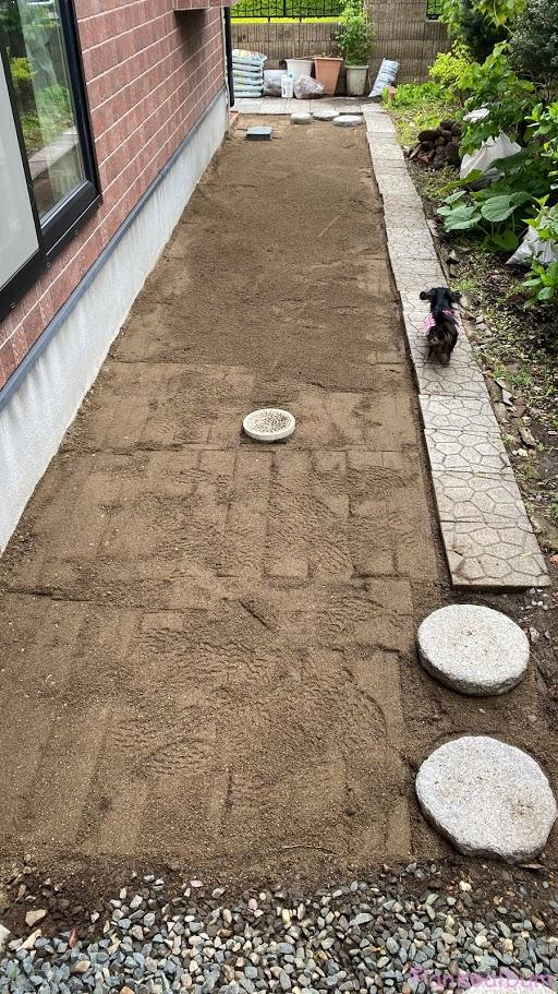 愛犬の庭づくり